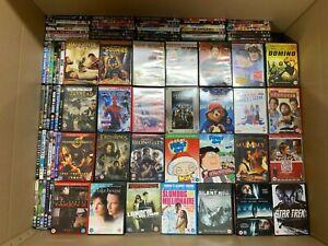 Approx 2050 x DVDs Job Lot: Kids Music Simpsons Disney Horror BBC Classics