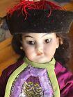 "Amazing Asian Oriental Simon & Halbig 1129 Bisque Head Doll 9"" C. 1890"