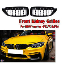 Gloss Black Diamond Style Grill Grille For BMW F32 F33 F36 428i 435i M3 M4 Type