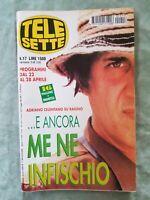 49) TELESETTE ITALIAN MAGAZINE N 17/2001 ADRIANO CELENTANO FERILLI VASSART GABER