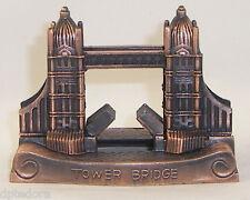 SOUVENIR METAL BUILDING  LONDON TOWER BRIDGE