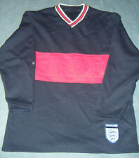 England Tracksuit, M&S 1990's Navy Blue polycotton, 13-14 Years, Good Condition.