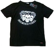 Fei57 Teschio Distortion to Chiaro Abbigliamento da discoteca T-Shirt L/XL