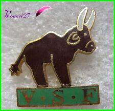 Pin's VSF Vétérinaire sans Frontiére la Vache Boeuf taureau corne  #G5