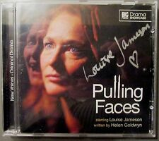 BIG FINISH audio CD Pulling Faces Drama Showcase SIGNED autograph LOUISE JAMESON