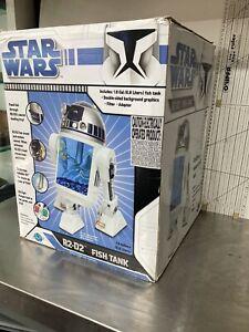 Star Wars R2D2 Fish tank aquarium. IN BOX! Rare Find!