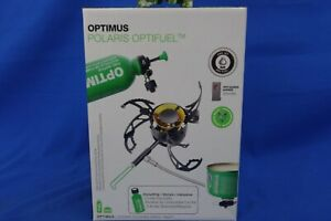 New Optimus Polaris Optifuel Camp/Backpacking Stove with .4L Fuel Bottle