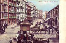 POSTAL  ESPAÑA - CÁDIZ - Vista de la calle Isaae Peral - MBC