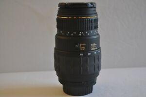LOOK it has MACRO!...Quantaray for Nikon AF LDO Macro 70-300mm Lens 1:4-5.6.WOW!