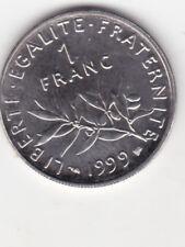 1 FRANC 1999   SERIE B.U.