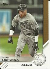 YOAN MONCADA 2017 TOPPS SER 2 TOPPS SALUTE ROOKIE CARD #S-114  SEE SCAN