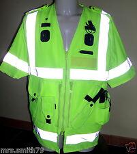 Standard ARKTIS POLICE SECURITY UTILITY VEST alta visibilita', tg.L Nuovo