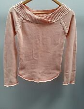 MNG Peach Jumper Size Small Boatneck <C2477