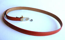 Vintage PIERRE CARDIN Genuine LEATHER BELT & Cardin Ephemeron - Belt is 1970s