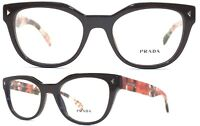Prada Damen Brillenfassung VPR21S DHO-1O1 51mm braun Vollrand 549 22