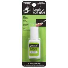 5 SECOND NAIL - Brush On Nail Glue - 0.2 fl. oz. (6 g)