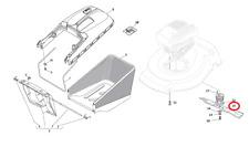Mountfield SP42R Petrol Roller Lawnmower Ciutting Blade 181004341/3 2015-2016