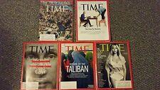 Lot of 5 TIME MAGAZINE 2014: BEYONCE, PUTIN, TALIBAN,The Ideas ISSUE-KEY & PEELE