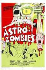 Astro Zombies Cartel 02 A4 10x8 impresión fotográfica