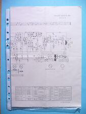 SERVICE schéma pour Philips b4d21a, Sagitta 421, original