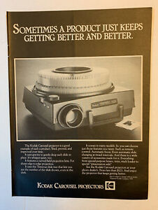 1978 Kodak Carousel Projectors Print Ad Original Vintage Photo Slides