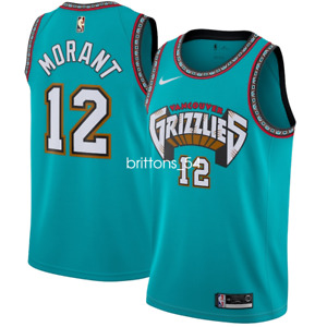 Hommes Memphis Grizzlies #12 Ja MorantBasketball Maillot Jersey S-2XL