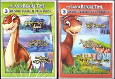The Land Before Time  5, 6, 7, 8, 9 & 10 - DVD 6-Movie Family Fun Pack BRAND NEW