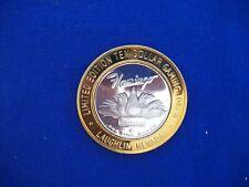Flamingo Laughlin 2002 Limited Edition Ten Dollar Gaming Token .999 Fine Silver