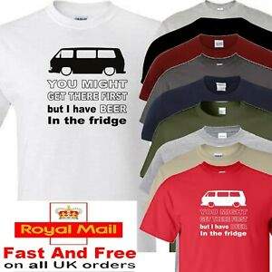 T25 Wedge T Shirt Beer In The Fridge Novelty Festival Fathers Day Gift Camping