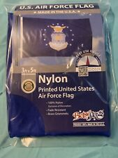 Us Air Force Seal 3x5 ft Insignia Flag Outdoor Nylon Usa Made