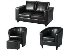 Tempo Tub Chairs & Sofas - Faux Leather or Fabric - Modern Design by Seconique