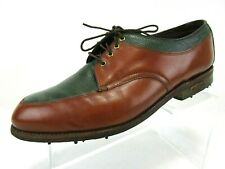 Footjoy Classics Mens Golf Shoes Size 9 D Two Tone New Soft Spikes Vintage