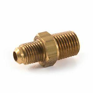 "1 x New Male Adaptor, Brass, 1/4"" flare x 1/8"" NPT,Freepost, UK Seller"