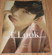 1ST LOOK FIRST LOOK JULY 2018 VOL.158 INFINITE L COVER KOREA TABLOID MAGAZINE