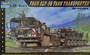 TRUMPETER® 00203 Faun SLT-56 Tank Tank Transporter in 1:35