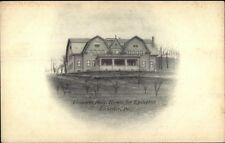Rochester PA Elisabeth Hall Homes For Epileptics c1905 Postcard