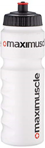 Maximuscle Water Bottle, White, 80 g