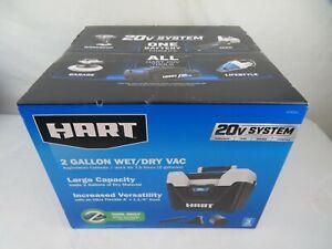 HART 20 Volt Cordless 2 Gallon Wet Dry Shop Vac Vacuum Tool Only HPWD01