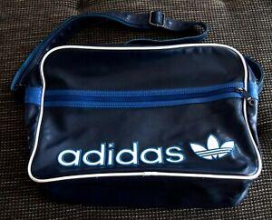 Adidas Umhängetasche Orig Airliner Bag Vintage Dunkelblau Blue Retro Sporttasche