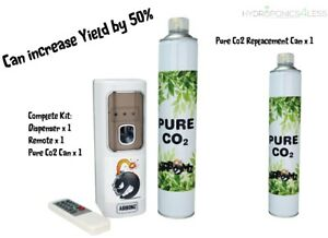 AirBomz CO2 Dispenser or Can Light Sensor Hydroponics Bloom Environment Yield