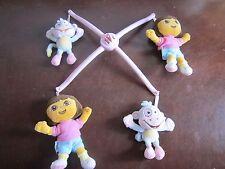 Baby Crib mobile top Dora the Explorer Bebe Boots Pink cute fun
