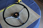 Factory original Porsche 356 T6 B C Steering wheel with horn button  mint used