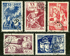Russia, Scott# 693 - 697, Michel# 652 - 656, CTO