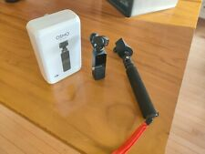 USED DJI Osmo Pocket 3-Axis Stabilizer and 4K Handheld Camera w/ selfie stick