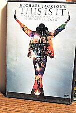 Michael Jackson's This Is It DVD New Old Stock still SEALED