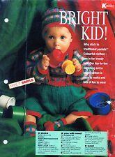 ~ Bebé Tejer patrón para lindo puente, pantalones, calcetines y sombrero ~ ~ 9 ~ 12 meses