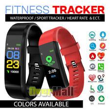 2020 Sports Waterproof FIT -BIT Fitness Activity Tracker Smart Watch Heart Rate