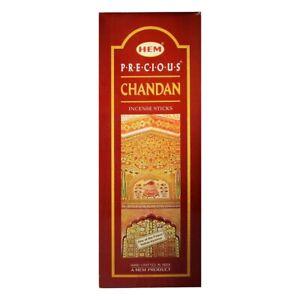Hem Precious Chandan Incense Sticks Joss Sticks 120 Sticks (20 Sticks Each)