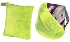 Hama Regenhülle Regenhaube Regenschutz gelb Nylon Gummizug Schulranzen Rucksack