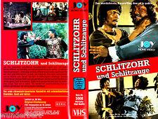 """VHS - """" SCHLITZOHR und Schlitzauge """" (1979) - Sek Tin"""